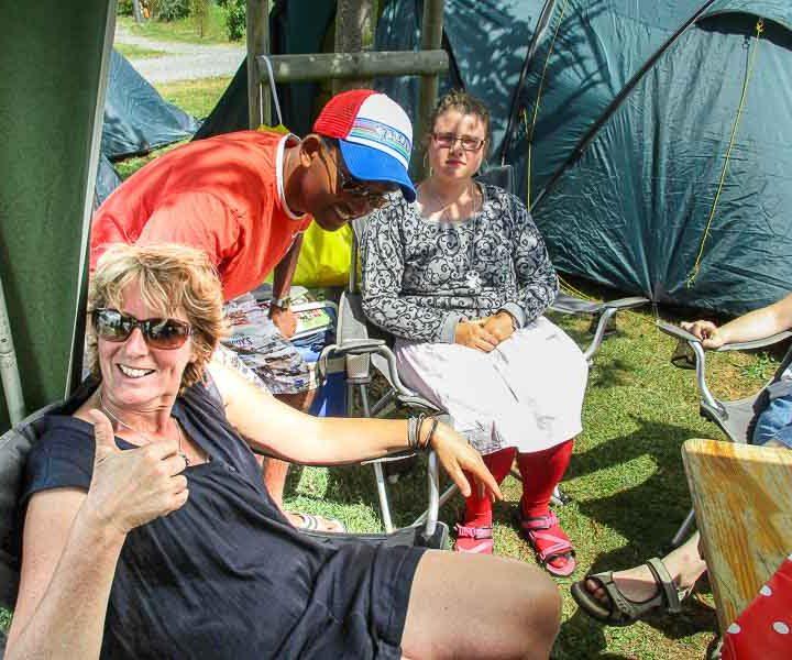 Op vakantie kamperen voor mensen met een handicap. Adios Reizen is een reisorganisatie voor mensen met een handicap die niet zelfstandig op vakantie kunnen.