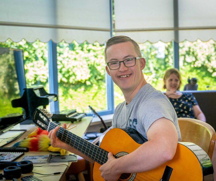 Zang en muziek vakanties voor mensen met een beperking